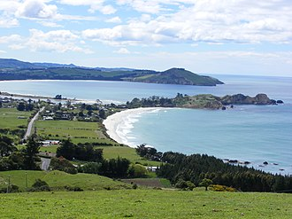 History of the Otago Region - Pā  at Huriawa Peninsula