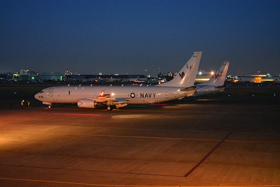 P-8A Poseidons of VP-16 at NAF Atsugi in 2013.JPG
