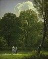 P.C. Skovgaard - Bleaching Linen in a Clearing - KMS3772 - Statens Museum for Kunst.jpg