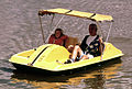 PADDLE-BOATING ON ONE OF THE LAKES IN THE CENTURY VILLAGE RETIREMENT COMMUNITY.jpg