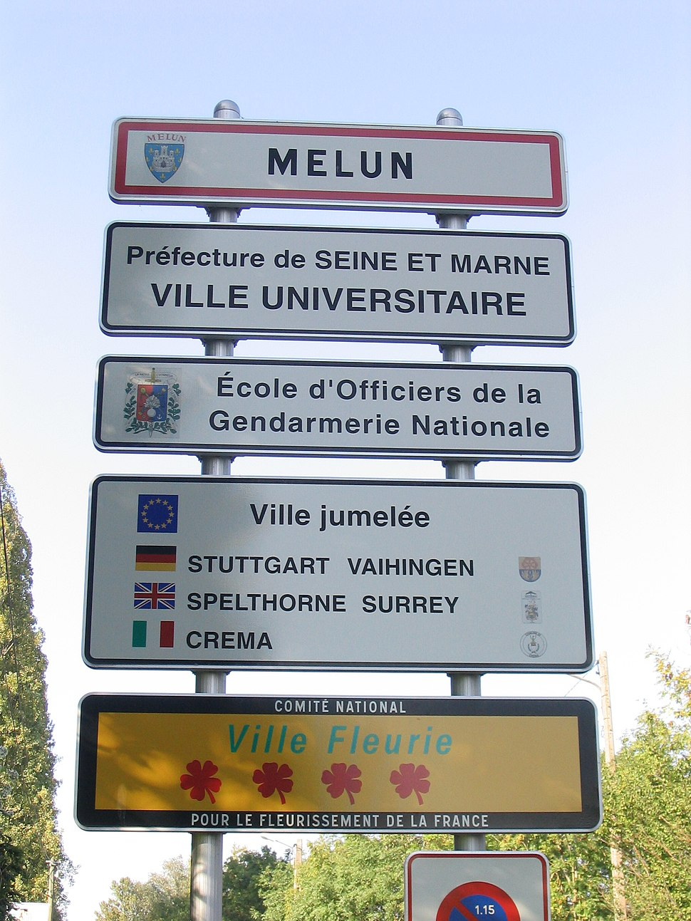 PANNEAU ENTREE MELUN