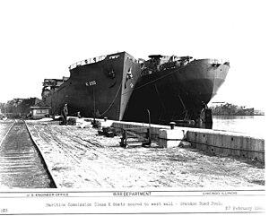 USS Pembina (AK-200) - Image: PCU Pembina (AK 200)