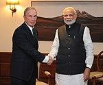 PM Narendra Modi with Michael Bloomberg.jpg
