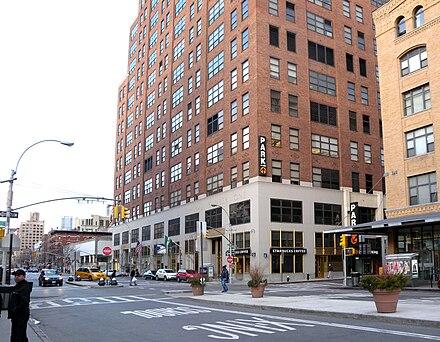 グーグルのニューヨーク市のオフィスビルには最大の広告販売チームがあります。