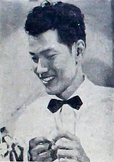 P. Ramlee Malaysian actor and film director