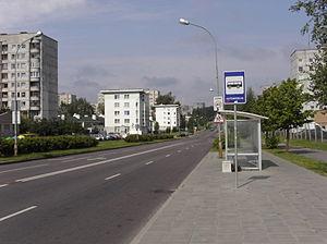 Pašilaičiai - Image: Pašilaičių gatvė