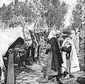 Paardenmarkt in Maison-Carrée (nu El Harrach, Algerije) in 1890 (RHCL, VKG 062).jpg