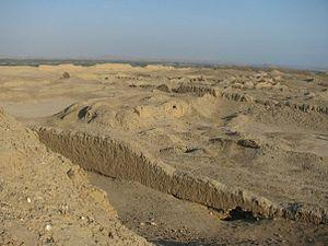 Pacatnamu - Pacatnamu archaeological site, Peru.