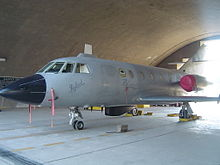 Pakistan Air Force No 24 Blinders Squadron Falcon DA-20 left side1.jpg