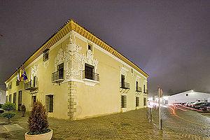 Almendralejo - Image: Palacio de Monsalud