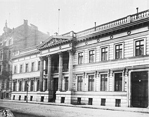 Embassy of the United Kingdom, Berlin - The Palais Strousberg later to become the old British embassy building