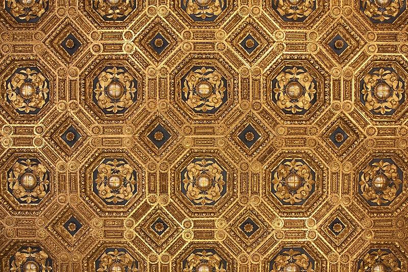 Archivo: Palazzo Vecchio - Sala dell'Udienza - ceilings.jpg