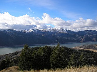 Palisades Dam - Palisades Reservoir northeast end
