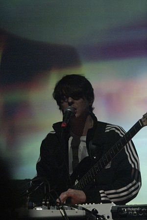 Panda Bear (musician) - Panda Bear performs in Paris in 2010.