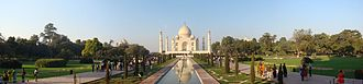 Braj - Image: Panoramic View of Taj Mahal