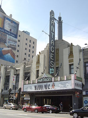 B. Marcus Priteca - Priteca's Pantages Theater in Hollywood.