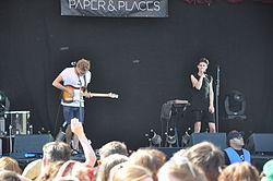 Paper & Places, Oben ohne Festival, 2014