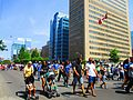 Parade connected with the Aga Khan, University Avenue, Toronto, 2016 05 29 (2) (27304877436).jpg