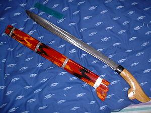 Parang (knife) - A souvenir Indonesian parang