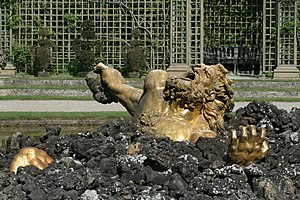 Parc de Versailles, Bosquet de l'Encelade, bassin 03