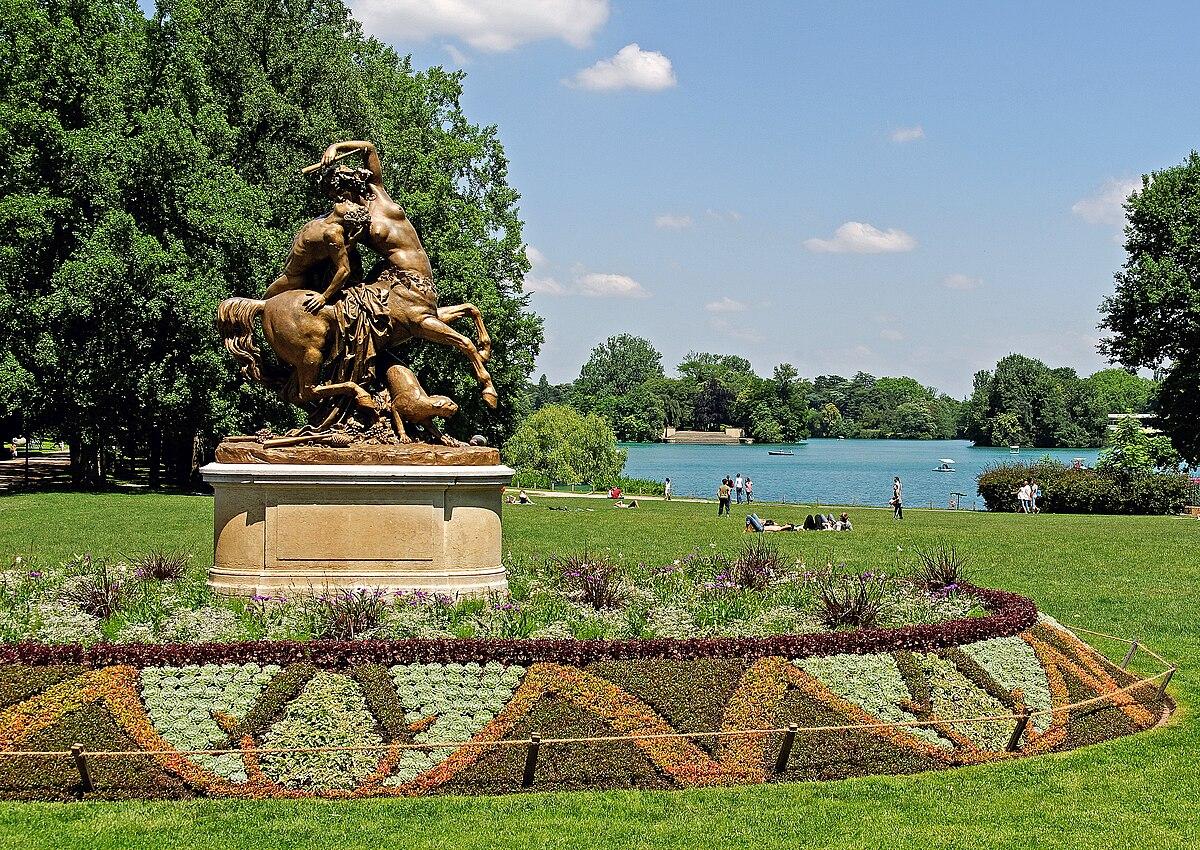 Parc de la t te d 39 or wikip dia Histoire des jardins wikipedia