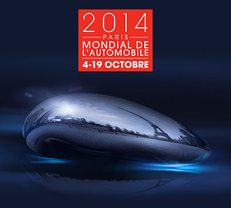 2014 Paris Motor Show - Paris Motor Show 2014 poster