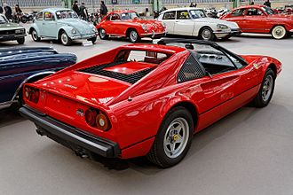 Ferrari 308 GTB/GTS - 1981 308 GTSi, rear view