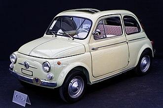 Fiat 500 - Image: Paris RM Auctions 5 février 2014 Fiat 500 D 1963 002