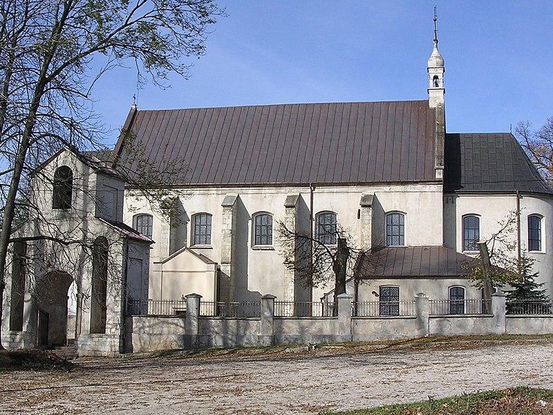 Sokolina kościół - żródło: Wikipedia