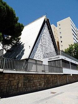 Parroquia de Nuestra Señora del Tránsito, fachada sur.jpg