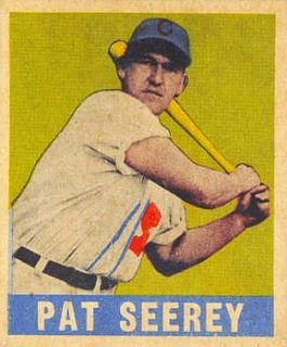 Pat Seerey American baseball player