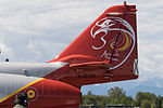 Patrulla Águila special tail celebrating 30 years on CASA C-101EB Aviojet E25-28 - 79-28-1 (cn EB01-28-28) (22102488071).jpg