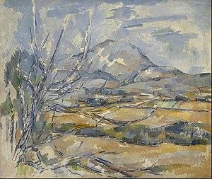 Mont Sainte-Victoire (Cézanne) - Image: Paul Cezanne Montagne Sainte Victoire Google Art Project