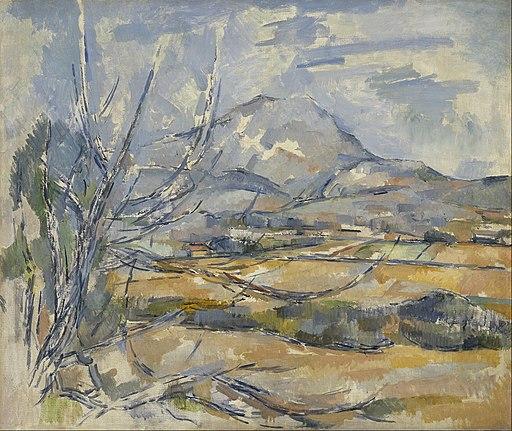 Paul Cezanne - Montagne Sainte-Victoire