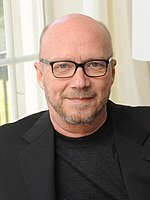 Photo of Paul Haggis at the Canadian Film Centre in 2013.