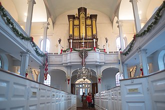 Old North Church - Interior of the Old North Church