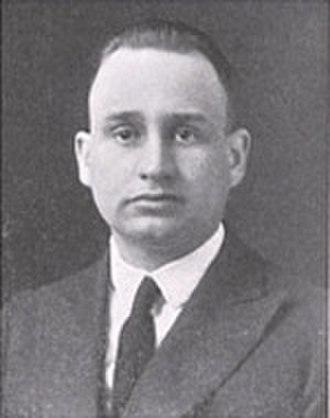 Paul J. Schissler - Schissler from 1918 Cornhusker