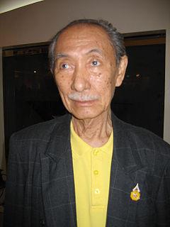 Payut Ngaokrachang Cartoonist, animator, film director, teacher