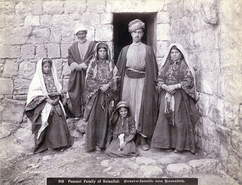 File:Peasant Family of Ramallah 1900-1910.jpg - Wikipedia, the ...