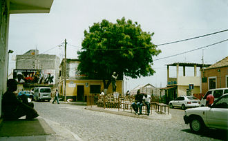 Pedra Badejo - Market Place and monument.