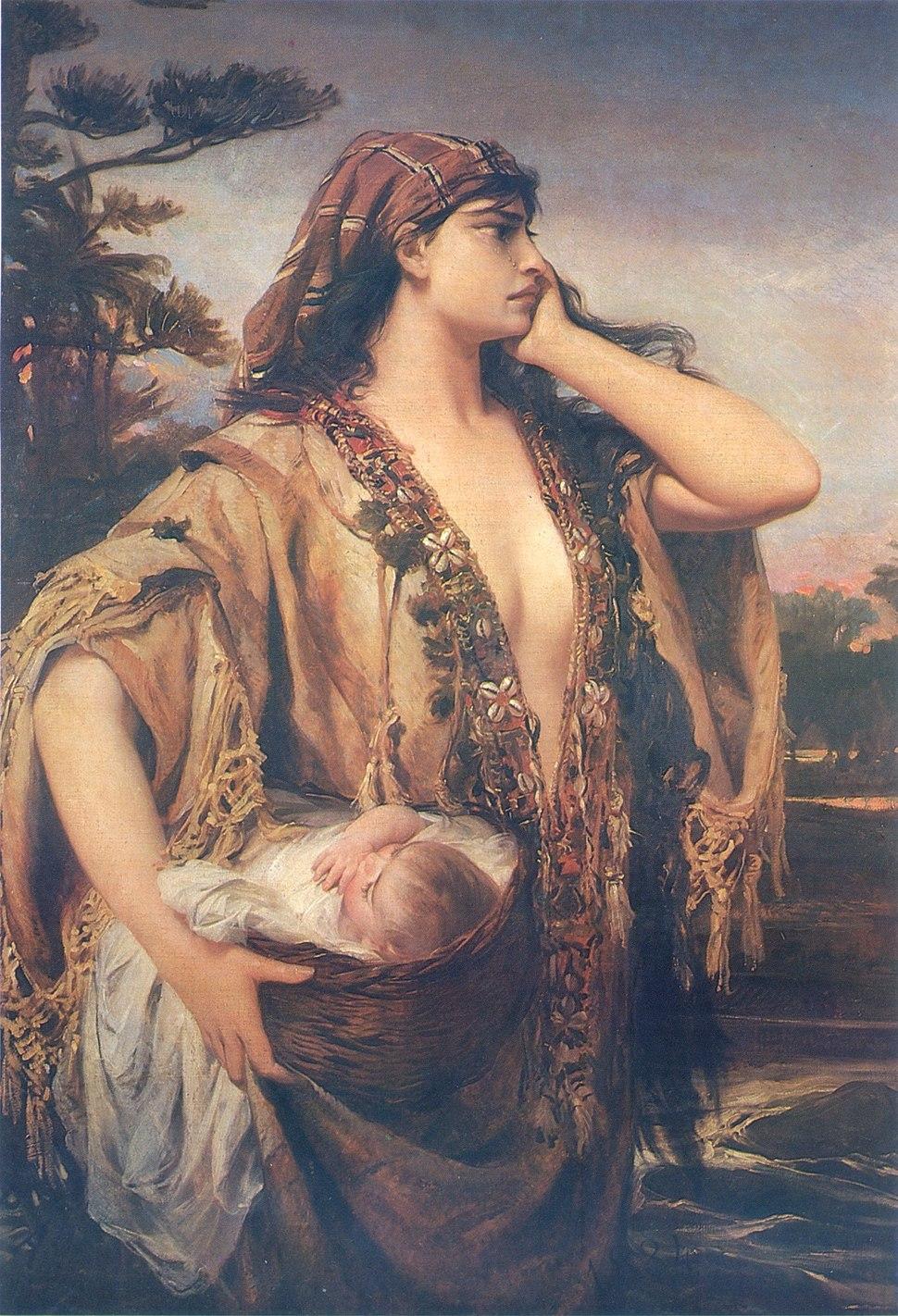Pedro Américo - Misés e Jocabed - 1884