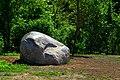 Pedvāle open air museum. Ziedoņa akmens - Ziedoņa stone - panoramio (1).jpg