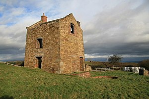 Brymbo - The Penrhos Engine House, built c.1794 by John Wilkinson
