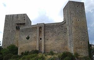 Pereto - Medieval castle in Pereto