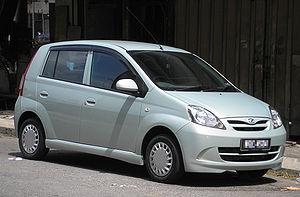 Perodua Viva - Image: Perodua Viva (first generation) (front), Kuala Lumpur