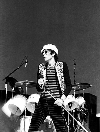 Peter Wolf - Peter Wolf with the J. Geils Band in Candlestick Park, San Francisco, California