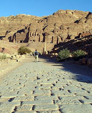 Cardo - Cardo in Petra, Jordan