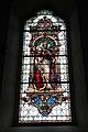 Pfarrkirche Dellach im Drautal - Fenstermalerei - Schwarze Madonna.JPG