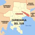 Ph locator zamboanga del sur tukuran.png