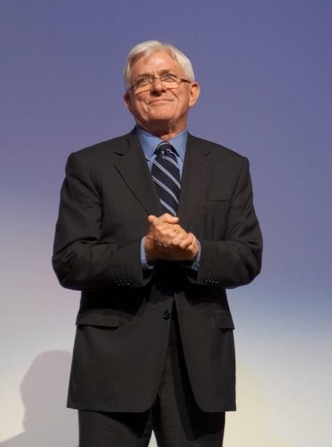Phil Donahue at the Toronto International Film Festival
